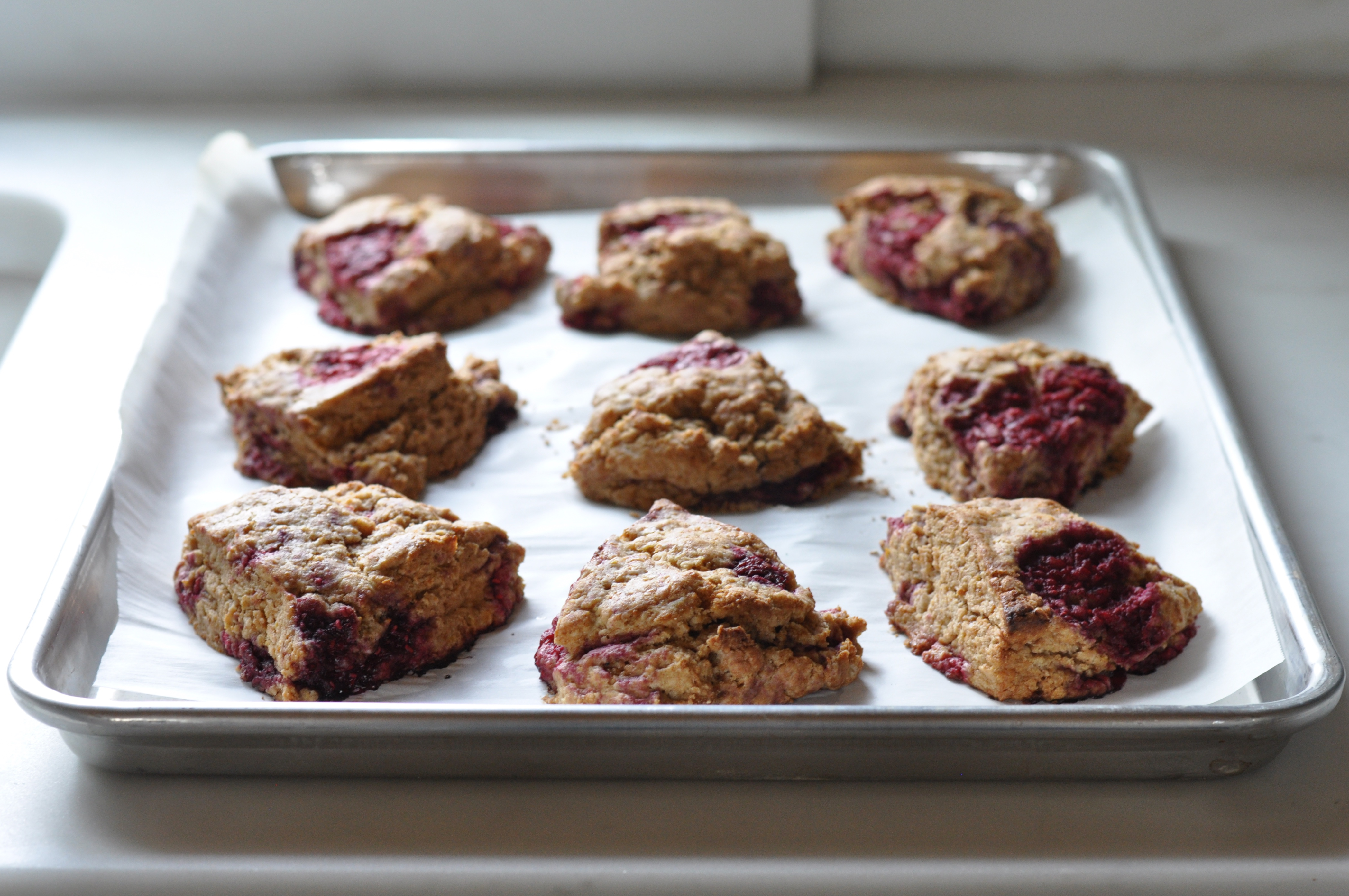 Raspberry Mega Scones Recipes — Dishmaps