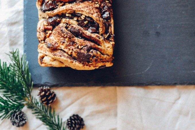 Vegan Chocolate Babka | Oh, Holy Basil